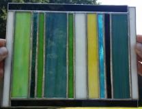 łowickie  zielono-niebieski