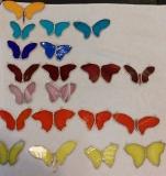 remanent motyle duże