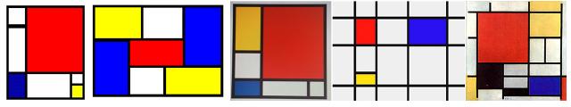 Mondrian inspiracja