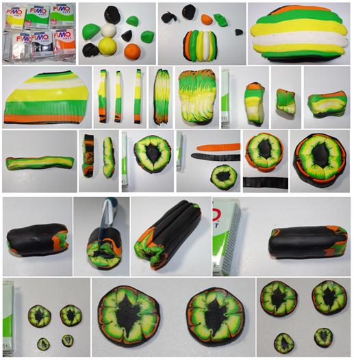 oko smoka zielone całość