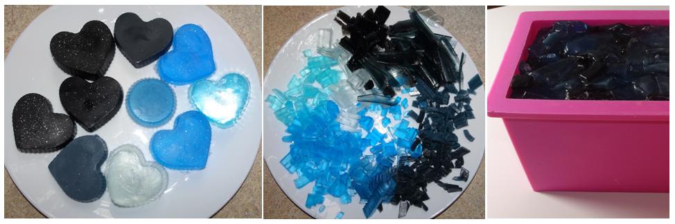 2 niebieskie minerały