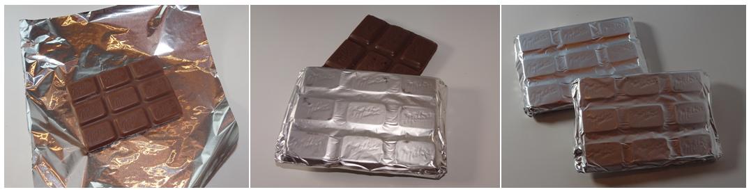 czekolada w sreberku